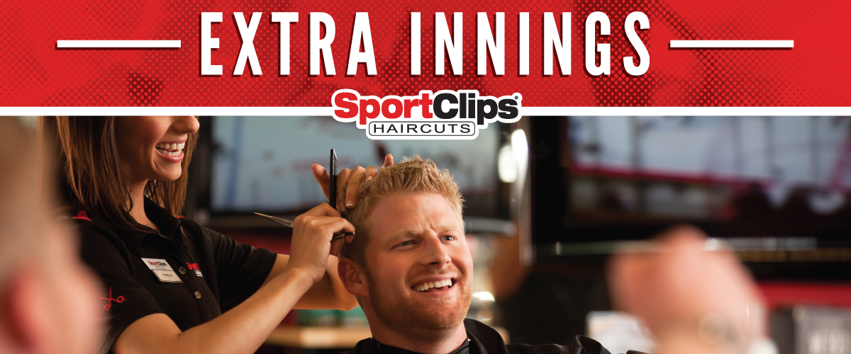 The Sport Clips Haircuts of Port Arthur Extra Innings Offerings